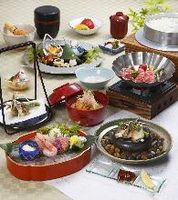 10,800日元套餐 (8道菜)