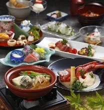 12,960日元套餐 (8道菜)
