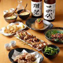 4,299日元套餐 (9道菜)