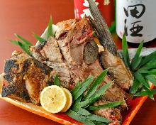 当日烤鱼颈肉