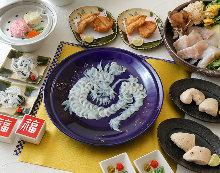 33,000日元套餐 (8道菜)