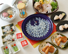 25,300日元套餐 (8道菜)