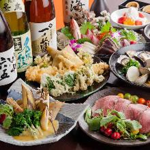 4,980日元套餐 (8道菜)