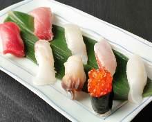 上等手握寿司拼盘