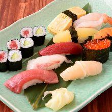 特级上等手握寿司拼盘
