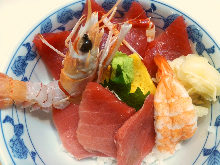 蓝鳍金枪鱼盖饭