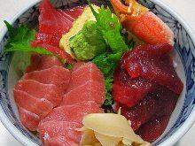 金枪鱼中脂和金枪鱼盖饭