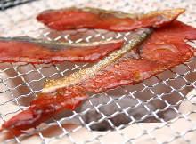 三文鱼鱼干