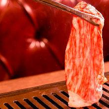 沙朗肉烤涮