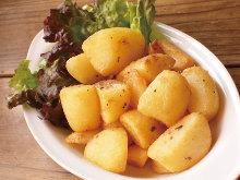凤尾鱼土豆