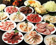 3,542日元套餐 (23道菜)