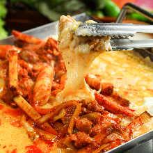 韩式奶酪辣炒鸡排