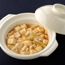 长葱炒豆腐