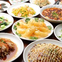 2,780日元套餐 (122道菜)