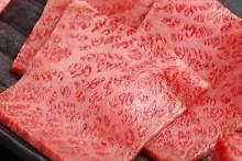 和牛霜降肩里脊芯肉