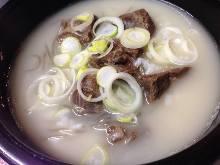 韩式牛肉汤