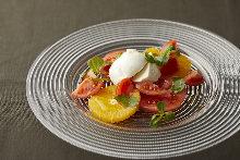 水果番茄马苏里拉奶酪