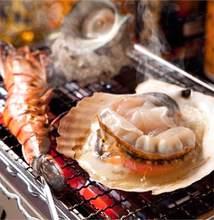 3种烤海鲜拼盘