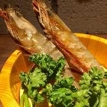 烤大虾(盐味)