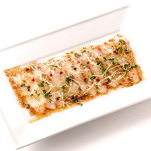 每日更换意式生腌鱼肉片