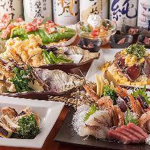 4,680日元套餐 (9道菜)