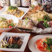 3,580日元套餐 (8道菜)