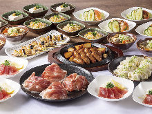 3,000日元套餐 (9道菜)