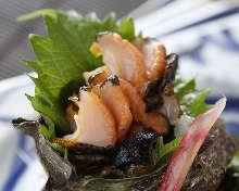 角蝾螺(生鱼片)