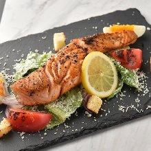 肥鲑鱼沙拉