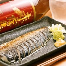 炙烤腌鲭鱼