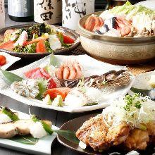 6,480日元套餐 (8道菜)