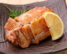 盐烤鸡腿肉