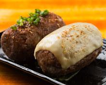 牛肉卷饭团