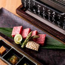 9,500日元套餐 (9道菜)