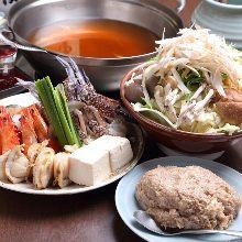 海鲜相扑火锅