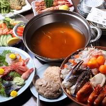 6,050日元套餐 (8道菜)