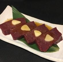 牛肝(烤肉)