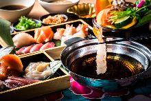 3,500日元套餐 (62道菜)