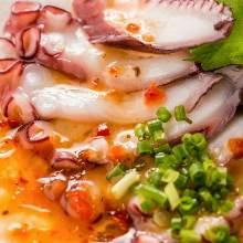 意式生腌章鱼片