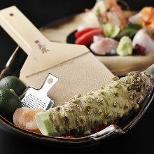 芥末卷寿司