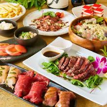 3,828日元套餐 (8道菜)