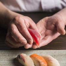 5种握寿司拼盘