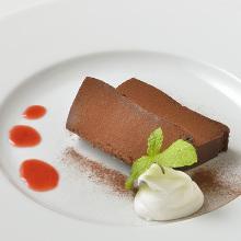 法式巧克力蛋糕