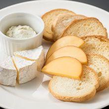 3种奶酪拼盘