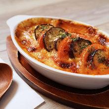 奶酪烤茄子