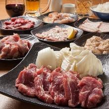 4,500日元套餐 (15道菜)