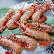盐烤牡丹虾