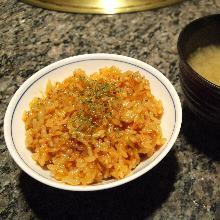 韩国泡菜米饭