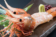 牡丹虾(生鱼片)