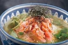 鲑鱼茶泡饭